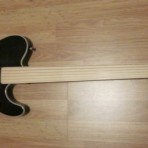 FreeNote Fretless Flyer Guitar Neck